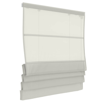 GAMMA vouwgordijn 2100 wit 60x180 cm
