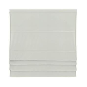 GAMMA vouwgordijn standaard met baleinen verduisterend 2203 wit 80x180 cm
