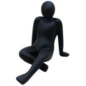 Standbeeld leunende vrouw 69x46x51 cm