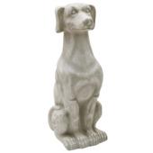 Standbeeld hond 39x38x75 cm cement