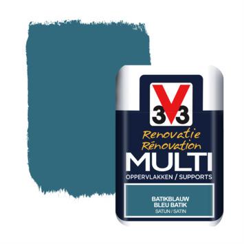 V33 Multi Renovatieverf batikblauw tester 75 ml