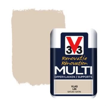 V33 Multi Renovatieverf vlas tester 75 ml