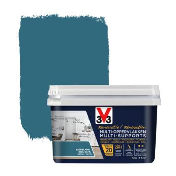 V33 Multi Renovatieverf batikblauw 500 ml