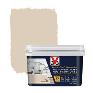 V33 Multi Renovatieverf vlas 500 ml
