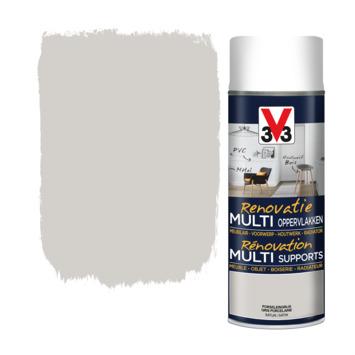 V33 Multi Renovatieverf porselijn grijs 400 ml