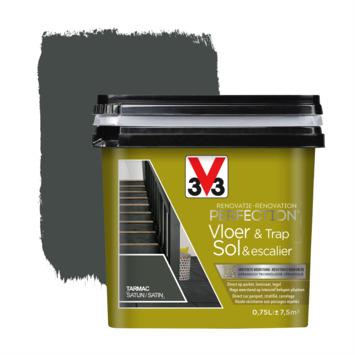 V33 Renovatieverf Vloer & Trap tarmac 750 ml