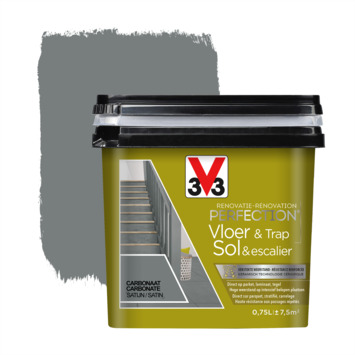 V33 Renovatieverf Vloer & Trap carbonaat 750 ml