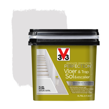 Peinture de rénovation pour sol & escalier plume V33 750 ml