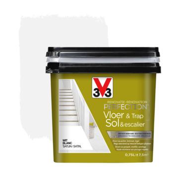Peinture de rénovation pour sol & escalier blanc V33 750 ml