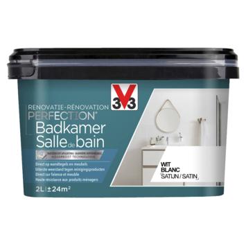 Peinture de rénovation pour salle de bain blanc V33 2 litres
