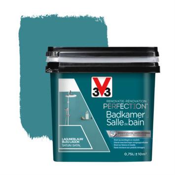 V33 Renovatieverf Badkamer laguneblauw 750 ml