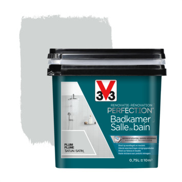 V33 Renovatieverf Badkamer pluim 750 ml