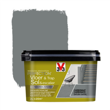 V33 Renovatieverf Vloer & Trap carbonaat 2 liter