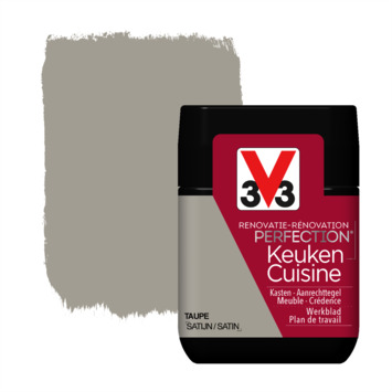 V33 Renovatieverf Keuken taupe tester 75 ml