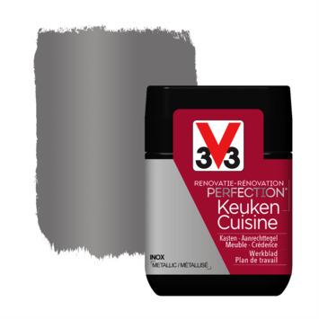 V33 Renovatieverf Keuken inox tester 75 ml