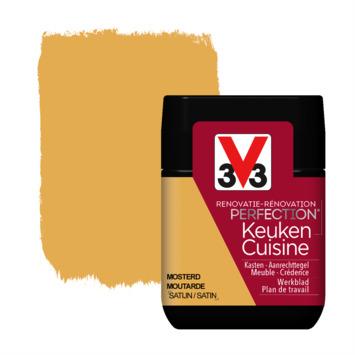 V33 Renovatieverf Keuken mosterd tester 75 ml