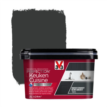 V33 Renovatieverf keuken smokyzwart 2 liter
