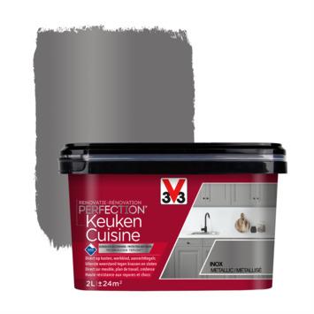 V33 Renovatieverf Keuken inox 2 liter