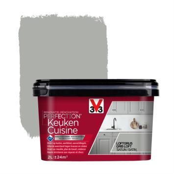 V33 Renovatieverf Keuken loftgrijs 2 liter