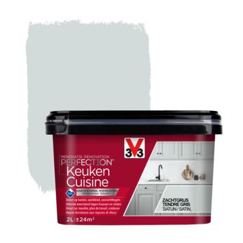 V33 Renovatieverf Keuken zachtgrijs 2 liter
