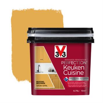 V33 Renovatieverf Keuken mosterd 750 ml