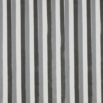 Livin' outdoor deurgordijn Stripes grijs 230x100cm
