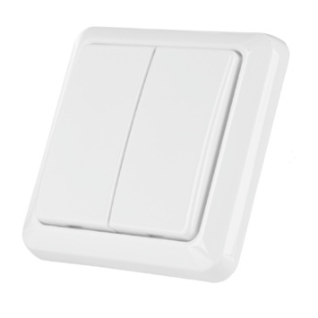 Interrupteur double blanc Trust Smarthome AWST-8802