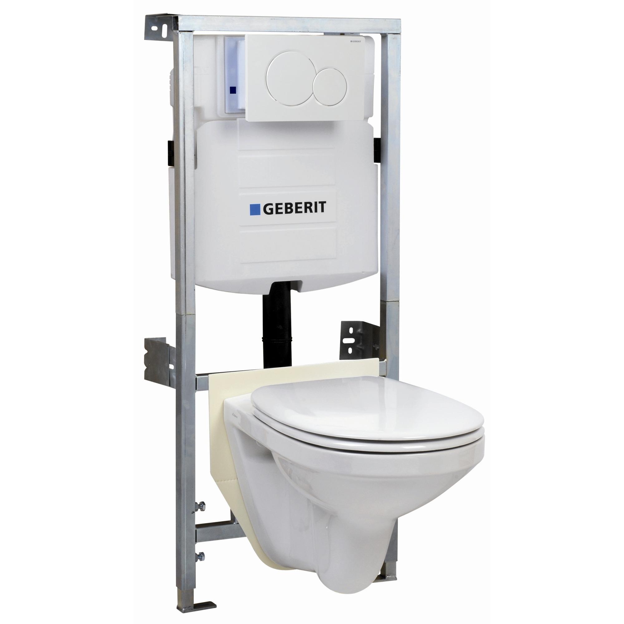 geberit pack wc suspendu autoportant blanc r servoirs wc toilettes sanitaire chauffage. Black Bedroom Furniture Sets. Home Design Ideas