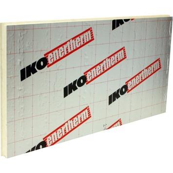 Iko Enertherm comfort tand en groef isolatietegel 60x120x9 cm 0,75 m² R=4 grijs