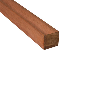 Grondbalk v-groef bruin 5x5x225 cm geïmpregneerd