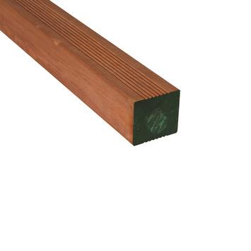 Poteau de jardin bois dur 6,5x6,5x275 cm
