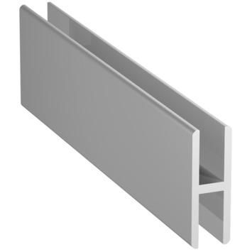 H-profiel aluminium 1 meter