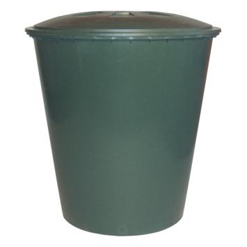 Tonneau de pluie conique vert 510 litres