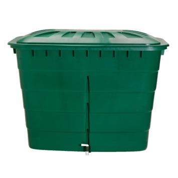 Garantia Regenton rechthoekig groen 520 Liter