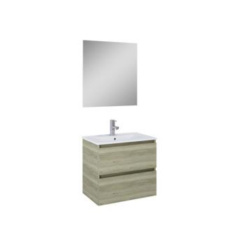 Set meuble de salle de bain Heon Atlantic 60 cm bois
