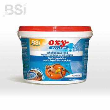 Traitement de choc Oxy Pool&Spa BSI 2,5 kg
