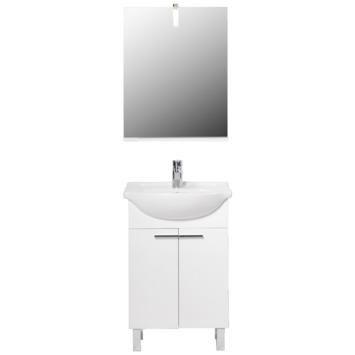 Meuble de salle de bains Ok blanc
