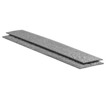 Ecolatte droite 14x1 cm 120 cm 4 pièces