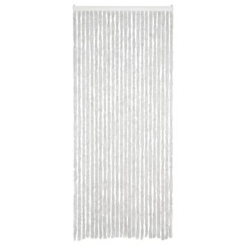 Livin' outdoor deurgordijn chenille grijs 220x90 cm