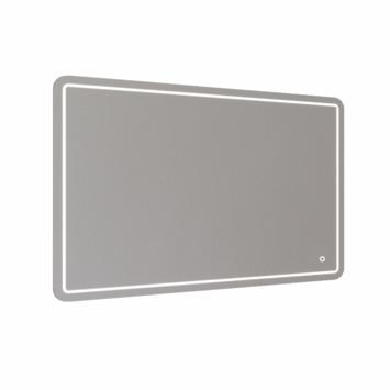 Miroir lumineux de salle de bain LED Allibert Halley 120x80 cm commande tactile