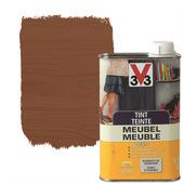 V33 tint meubel deco zijdeglans donkere eik 500 ml