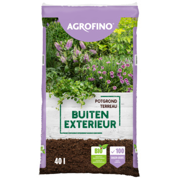 Agrofino potgrond bionature voor buitenplanten