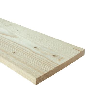 Bois d'échafaudage sapin brut 16x180 mm 240 cm naturel