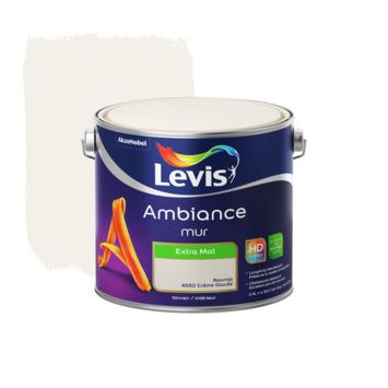 Peinture Ambiance Mur Levis extra mate 2,5 L crème glacée