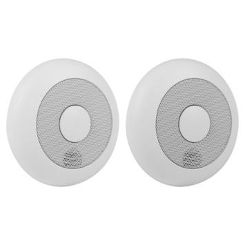 Smartwares Rookmelder RM175RF/2 Draadloos Koppelbaar set van 2