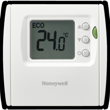 Thermostat d'ambiance Honeywell programmation numérique 1 jour blanc