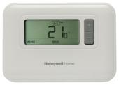 Thermostat d'ambiance Honeywell programmation numérique 7 jours blanc