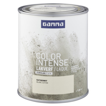 GAMMA color intense binnenlak zijdeglans 750 ml katoen wit