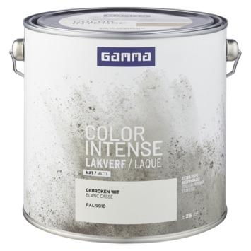GAMMA color intense binnenlak mat 2,5 L gebroken wit