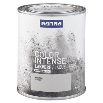 GAMMA color intense binnenlak zijdeglans 750 ml platina